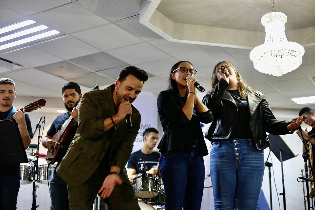 Luis Fonsi Joins Latin Grammy in the Schools Program in PR