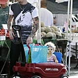 Photos of Nicole Richie, Harlow and Joel Madden