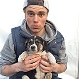 The Olympics Puppy Guy
