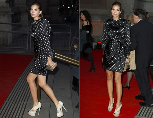 Photos of Dasha Zhukova at the Grace Kelly Exhibition Opening in London