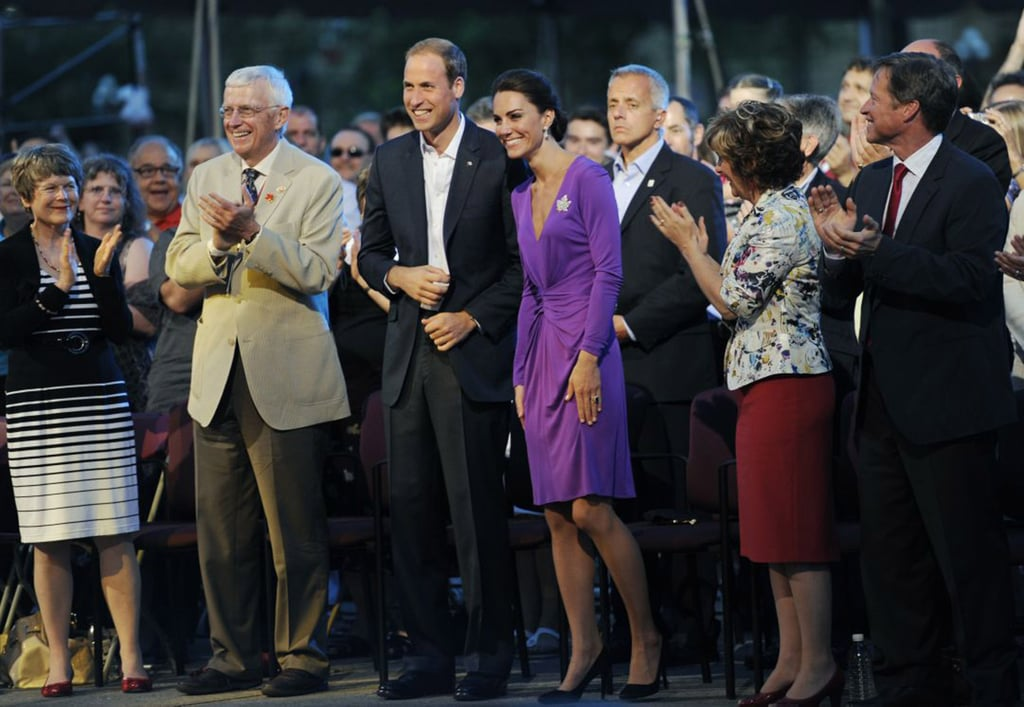 Kate Middleton in Issa Pictures With Prince William in Ottawa 2011-07-02 08:03:11