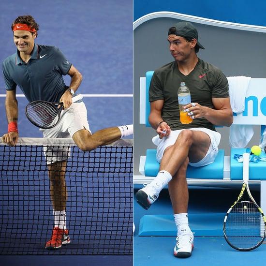 Federer Versus Nadal 2014 Australian Open