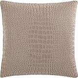 Faux-Crocodile Pillow ($40)