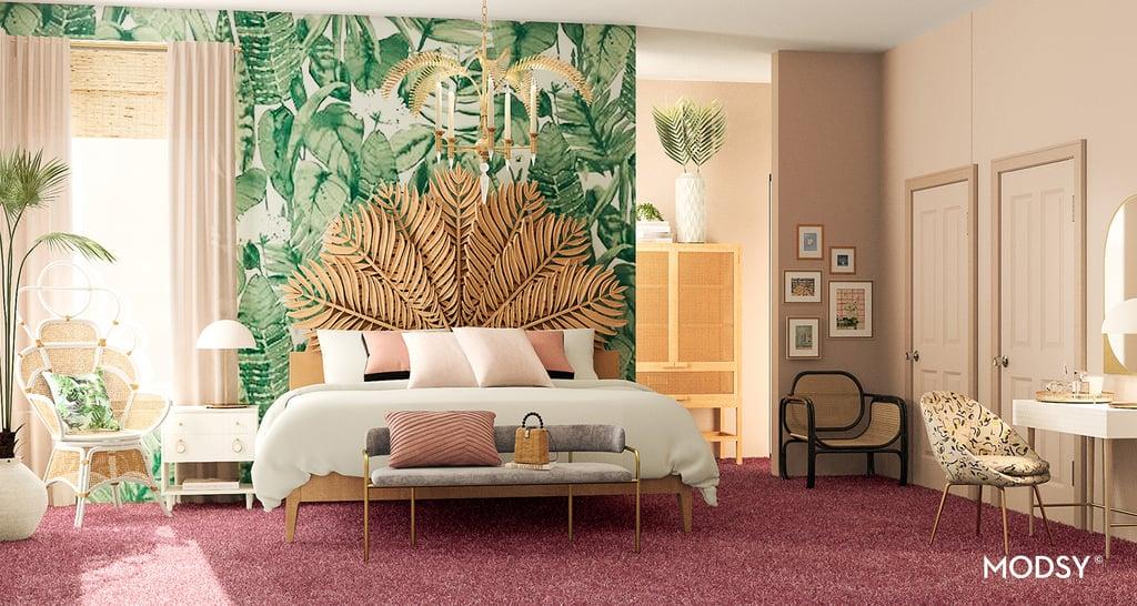 Golden Girls-Inspired Bohemian-Style Bedroom