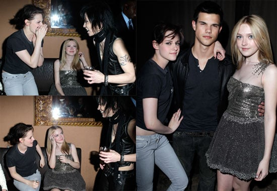 Photos of Dakota Fanning, Kristen Stewart, Taylor Lautner, and More at The Runaways Afterparty in LA 2010-03-12 10:00:00