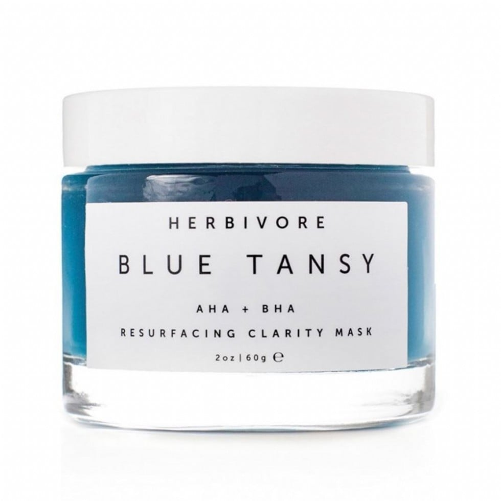 Herbivore Blue Tansy AHA + BHA Resurfacing Clarity Mask
