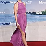 Brooklyn Decker in Lilac Gown at 2011 Just Go With It Berlin Premiere