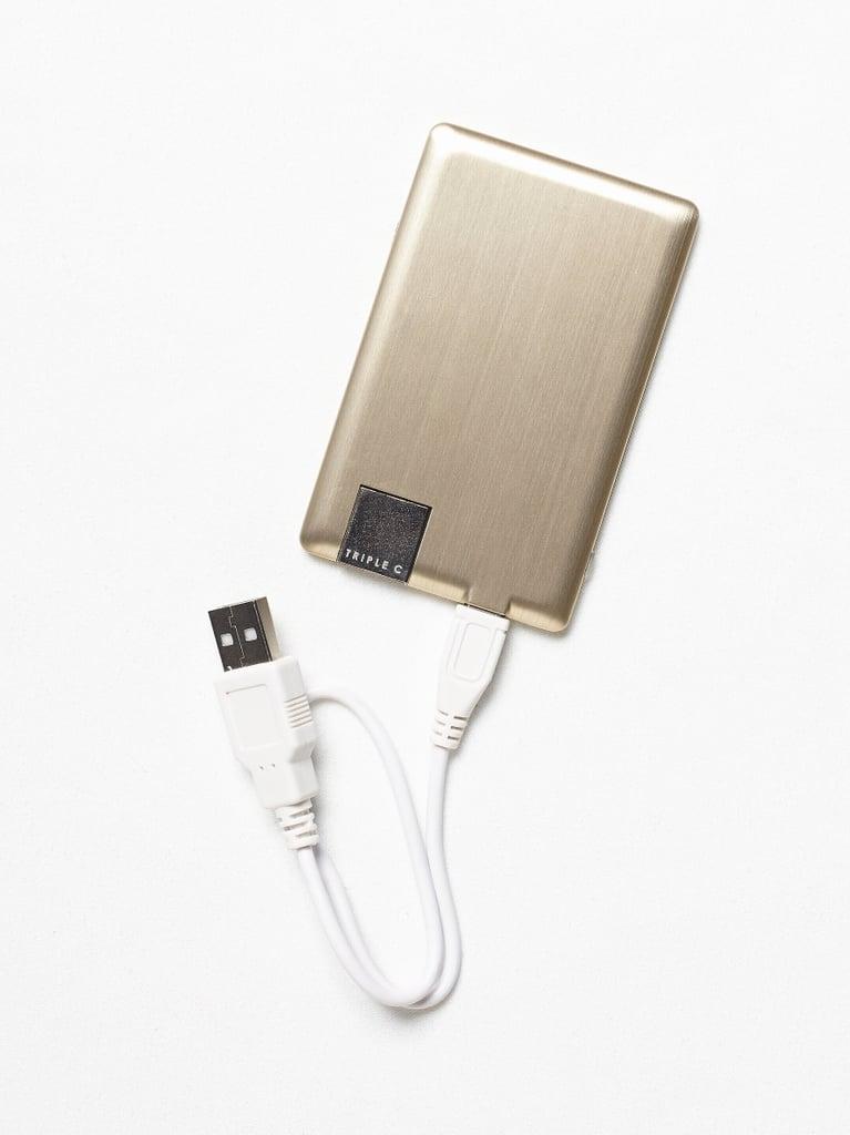 Gold Metallic Power Cord ($40)