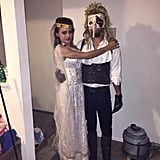 Sarah and the Goblin King From Labyrinth
