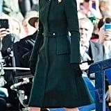 Kate Middleton's Green Coat on St. Patrick's Day 2019