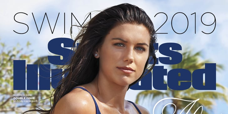 Gold Star Auto >> Alex Morgan Sports Illustrated Swimsuit Issue Cover 2019 ...