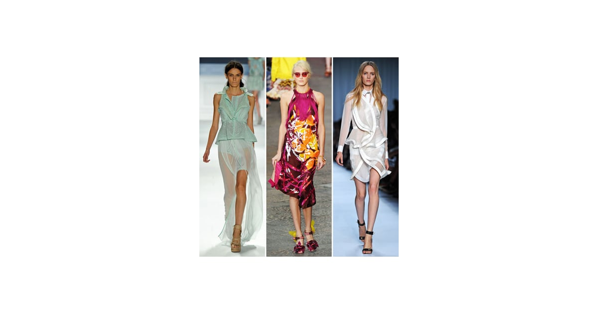 The Top Ten Runway Trends from Spring Summer 2012 To Wear ...