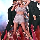"""In 2014, Taylor rocked the stage with an incredible performance of """"Shake It Off."""""""