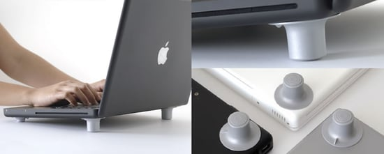 Feet To Cool Your Laptop