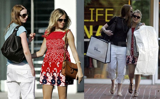 Photos Sienna Miller Out in LA After Story Breaks of Her Affair with Balthazar Getty