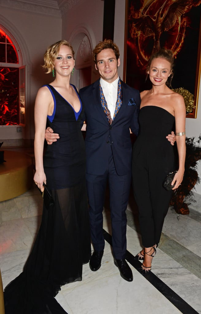 Celebrities at The Hunger Games Mockingjay Party at Cannes