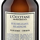 L'Occitane Relaxing Bath Oil (£18)