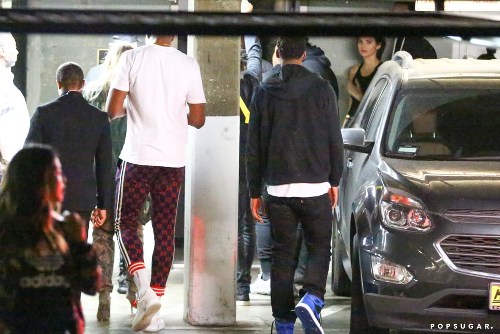 Khloé Kardashian and Tristan Thompson at LA Nightclub 2018