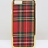Asos WAH LONDON x Plaid iPhone 6 Case ($15)