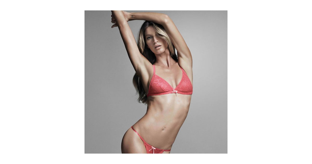 00fc41584 Gisele Bundchen Shows Off Her Pre-Baby Body for Hope Lingerie  So Sexy!