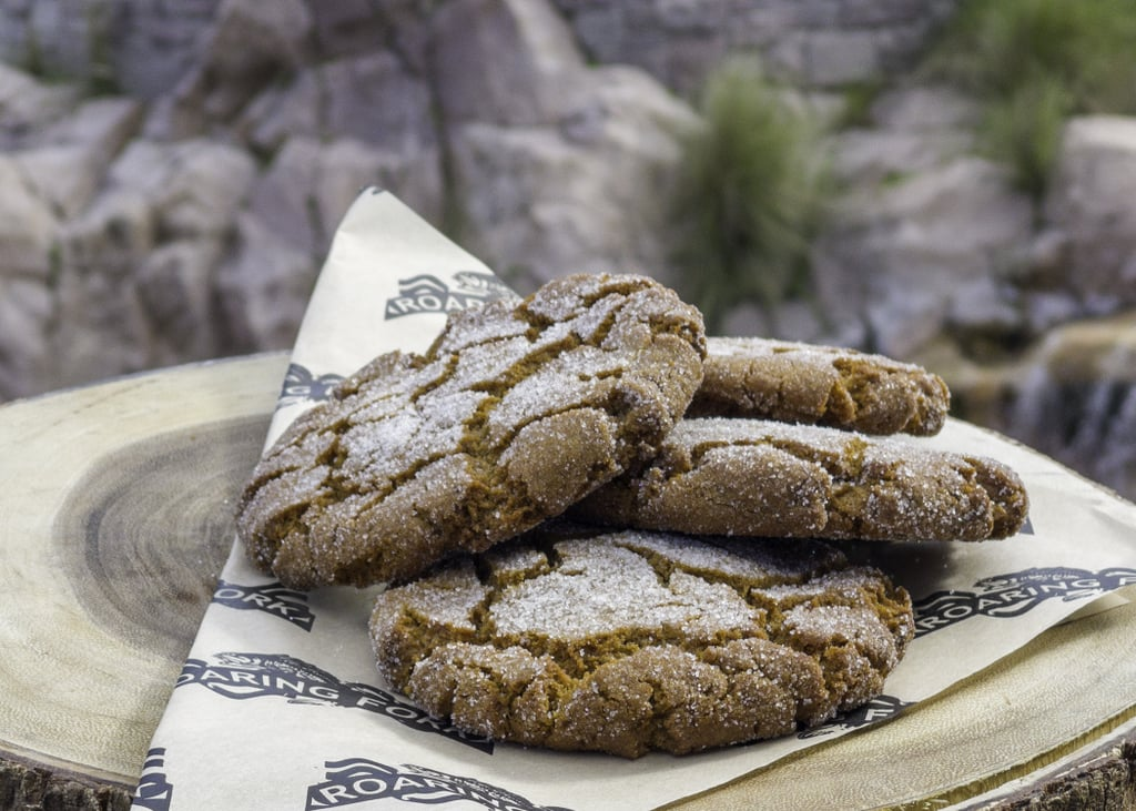 Molasses Crackle Cookies From Disney's Wilderness Lodge Bakery