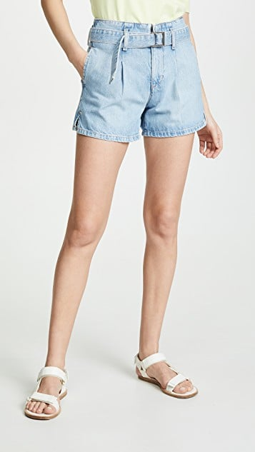 Ei8thdreams Belted Denim Shorts
