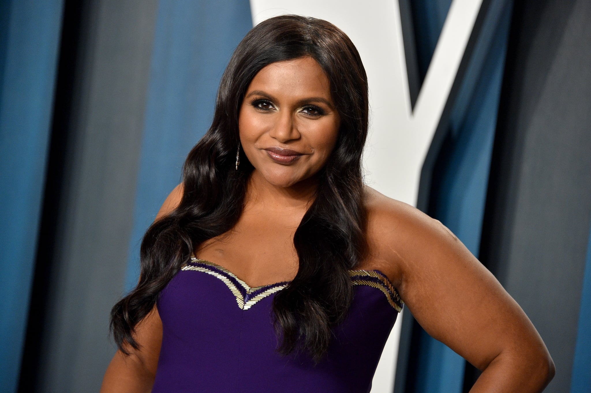 BEVERLY HILLS, CALIFORNIA - FEBRUARY 09: Mindy Kaling attends the 2020 Vanity Fair Oscar Party hosted by Radhika Jones at Wallis Annenberg Centre for the Performing Arts on February 09, 2020 in Beverly Hills, California. (Photo by Gregg DeGuire/FilmMagic)