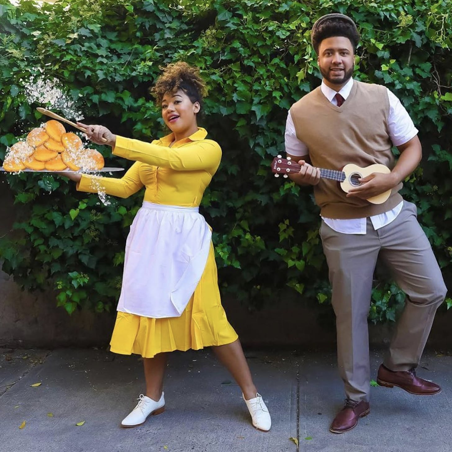 Do It Yourself Halloween Costumes For Couples.Cheap Diy Couples Halloween Costumes Popsugar Smart Living