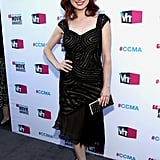 Ellie Kemper was in black at the Critics' Choice Movie Awards.