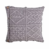 The Wool Company Chunky Knit Aran Cushion