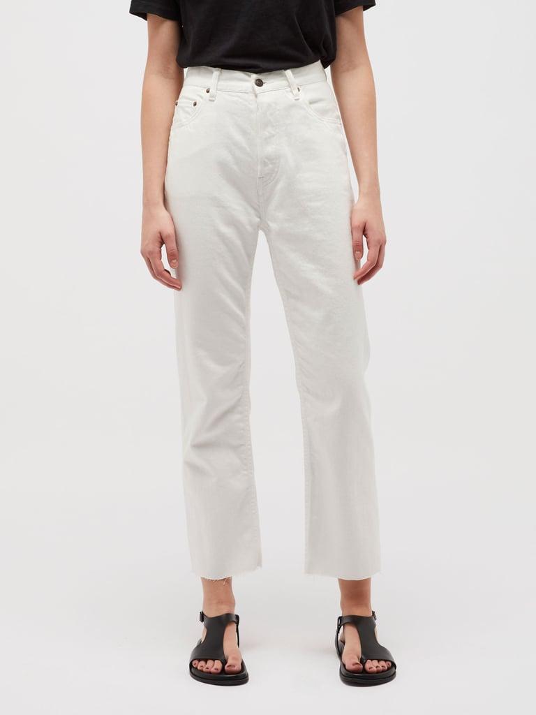 Bassike High Rise Straight Leg Jean ($380)