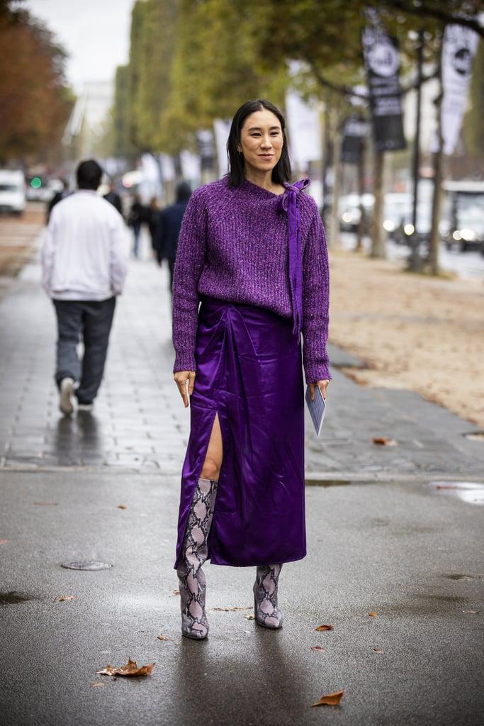 Fall/Winter 2019 Sweater Trend: Jewel Tones