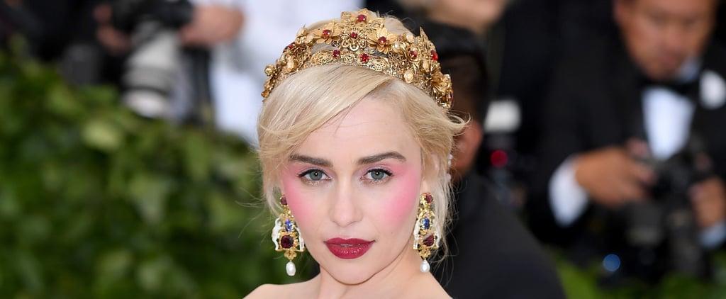 Emilia Clarke Loves to Break 1 Beauty Rule