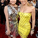With Shakira.