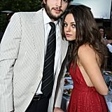 Ashton and Mila attended the seventh annual Chrysalis Butterfly Ball in May 2008 in LA.