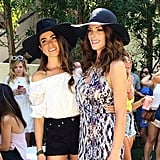 Nikki Reed and Ashley Greene Packed Their Matching Hats