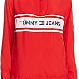 Tommy Jeans Hooded Logo Windbreaker
