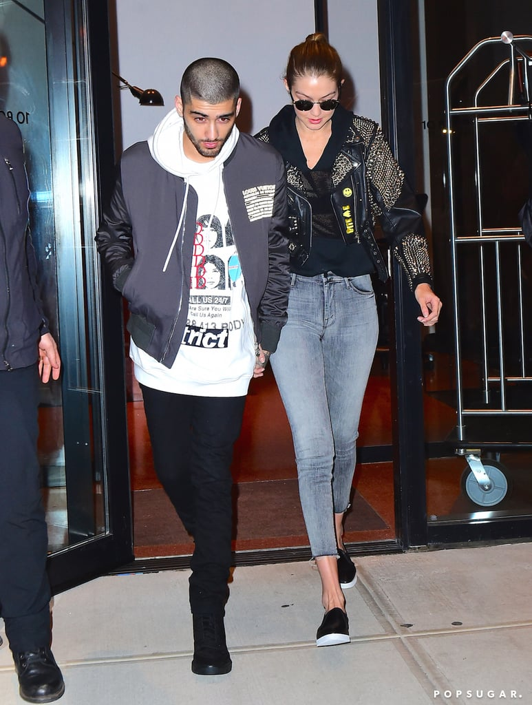 Gigi Hadid And Zayn Malik Couple Style Popsugar Fashion