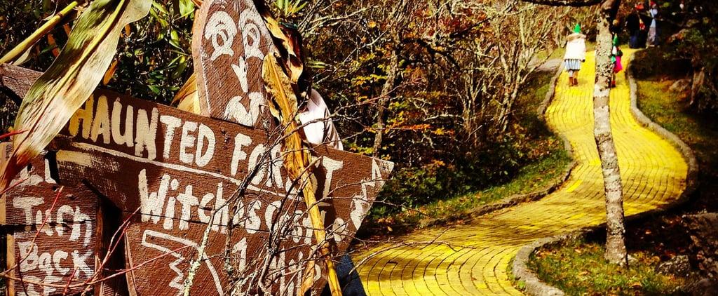 Abandoned Land of Oz Theme Park in North Carolina