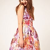 This sweet lantern dress will give you belle-of-the-ball status.  ASOS Lantern Dress in Darling Buds Print ($125)