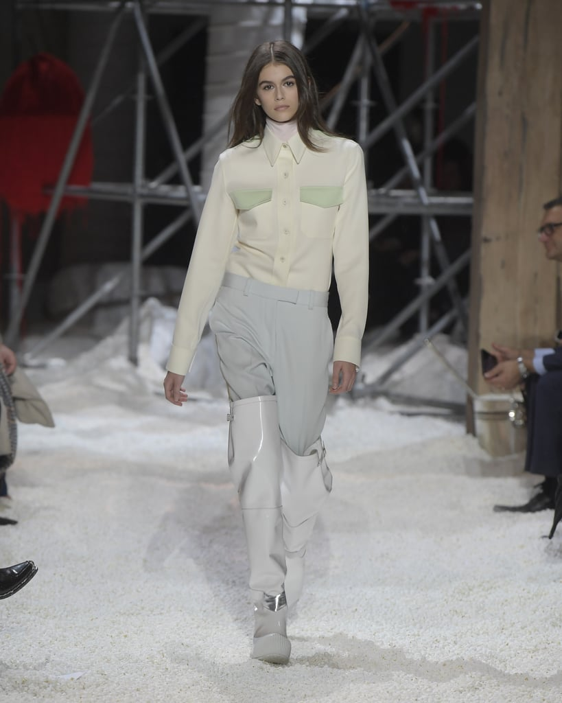 7fd9b08d Kaia Gerber Walked in Calvin Klein, Marking Her 8th Show This Season ...