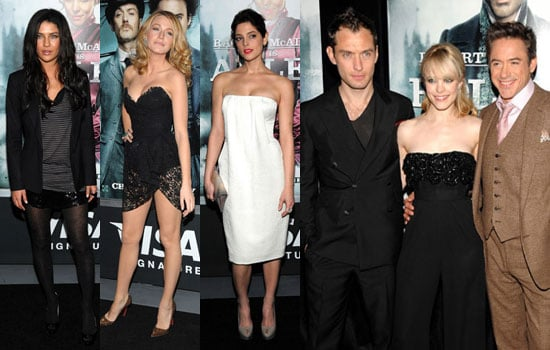 Photos of Sherlock Holmes Premiere NYC