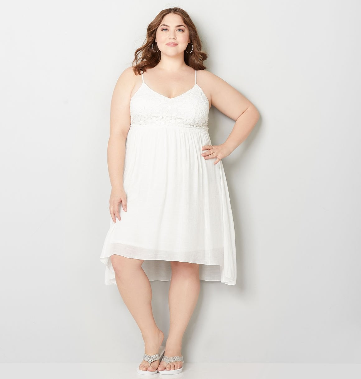 Avenue Plus Size Dress | Hailey Baldwin Looks Like an Actual ...