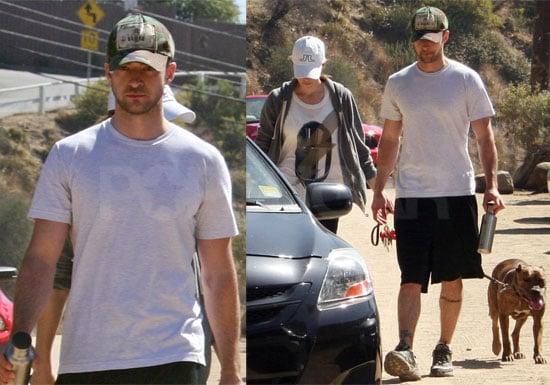 Photos of Justin Timberlake and Jessica Biel in LA