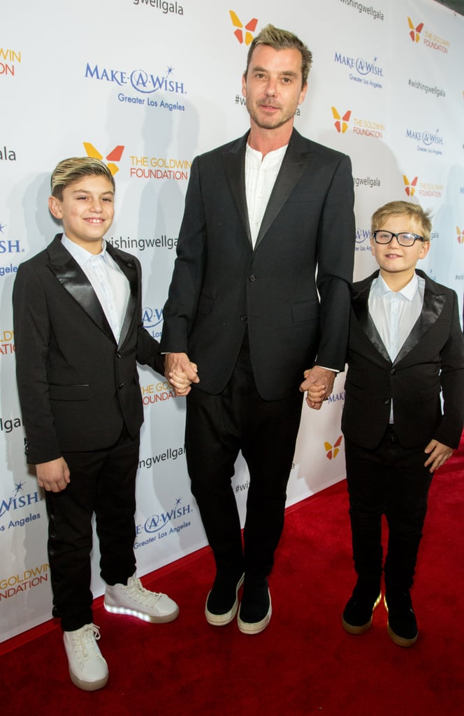 Gavin Rossdale and Sons at Make a Wish Event December 2016