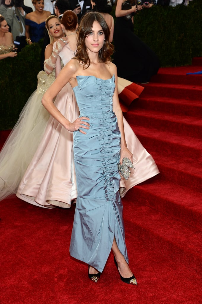 Alexa Chung at the 2014 Met Gala