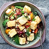 Red Rice, Bean, and Tofu Salad