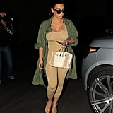 Kim Kardashian Flaunts Her Amazing Postbaby Body During an Outing in LA