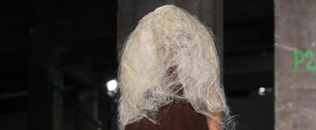 Rick Owens Hair Paris Fashion Week Fall 2016