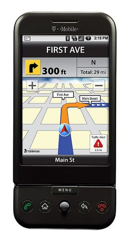 Daily Tech: The T-Mobile G1 to Get TeleNav GPS